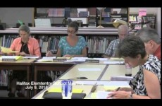 Halifax Elementary School Meeting
