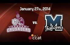 Carver Boys Basketball vs. Mashpee (1/27/14)