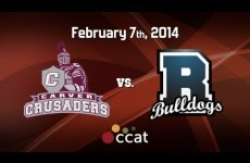 Carver Boys Basketball vs. Rockland – Senior Night