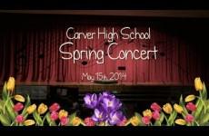 Carver High School Spring Concert 2014