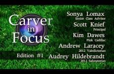 Carver in Focus: Edition #1