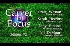 Carver in Focus: Edition #2