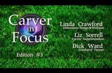 Carver in Focus: Edition #3