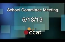 Carver School Committee Meeting, Re-Organization of Board