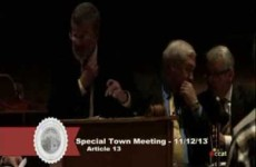 Carver Town Meeting
