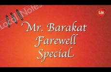 Local Notes: Mr. Barakat Farewell Special