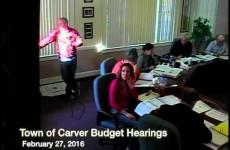 Carver Budget Hearing, Part I – 2016-02-27