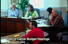 Carver Budget Hearing, Part II – 2016/02/27