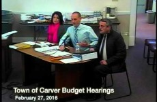 Carver Budget Hearing, Part III – 2016/02/27