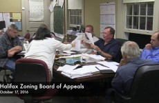 Halifax Zoning Board of Appeals 2016/10/17