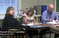 Dennett School Committee Meeting 2017/02/27