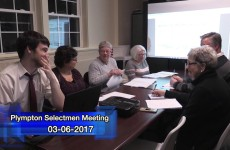 Plympton Finance Committee 2017/03/06