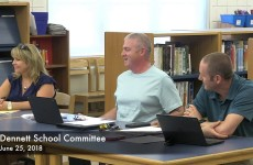 Dennet School Committee Meeting 6/25/18