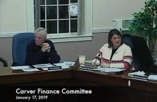 Carver Finance Committee 2019/01/17