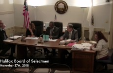 Halifax Board of Selectmen 2019/01/08
