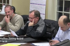 Halifax Zoning Board 2019/01/14