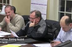 Halifax Zoning Board 2019/01/14
