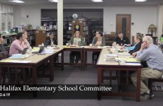 Halifax Elementary School Committee 2019/02/04