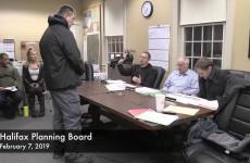 Halifax Planning Board 2019/02/07