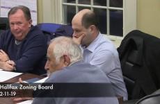 Halifax Zoning Board 2019/02/11