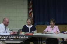 Dennett School Committee Meeting 2019/02/25