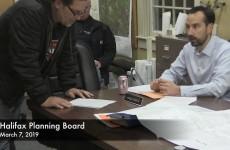 Halifax Planning Board 2019/03/07