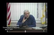 Carver Board of Selectmen 2019/04/11