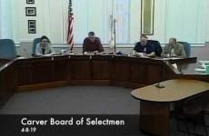 Carver Board of Selectmen 2019/04/08