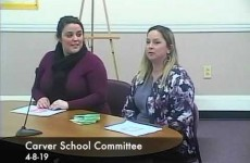 Carver School Committee 2019/04/08