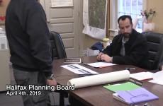 Halifax Planning Board 2019/04/04