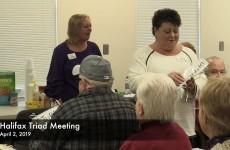 Halifax Triad Meeting 2019/04/02
