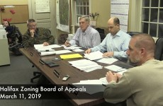 Halifax Zoning Board of Appeals 2019/03/11