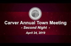 Carver Annual Town Meeting Day 2 pt.1 2019-04-24