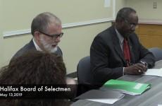 Halifax Board of Selectmen 2019/05/13