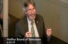 Halifax Board of Selectmen 2019/04/23