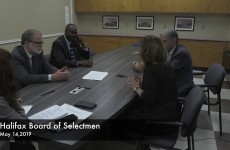 Halifax Board of Selectmen 2019/05/14