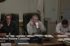 Halifax Finance Committee 2019-04-22