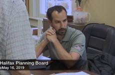 Halifax Planning Board 2019/05/16