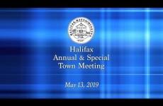 Halifax Town Meeting 2019/05/13 (Part 1)