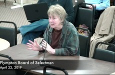 Plympton Board of Selectmen 2019/04/22