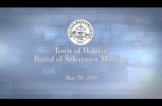 Halifax Board of Selectmen 2019/05/28