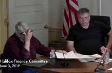 Halifax Finance Committee 2019/06/03