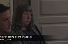 Halifax Zoning Board of Appeals 2019/06/03