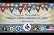 Plympton Memorial Day Parade & Commemoration Ceremony 2019