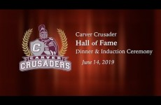 Carver Crusader Hall of Fame 2019