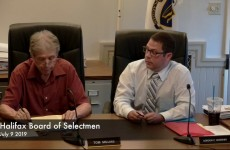Halifax Board of Selectmen 2019/07/08