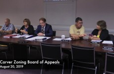 Carver Zoning Board of Appeals 2019/08/20