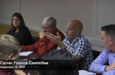 Carver Finance Committee 2019/09/10