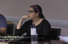 Carver Planning Board 2019/08/27