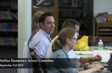Halifax Elementary School Committee 2019/09/03